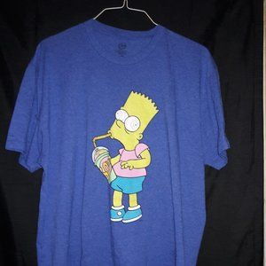 the simpsons Shirts - The simpsons bart simpson squishy xl